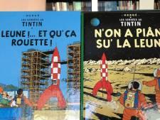 """""""La Leune! Et qu'ça rouette!"""": Tintin en patois de France"""