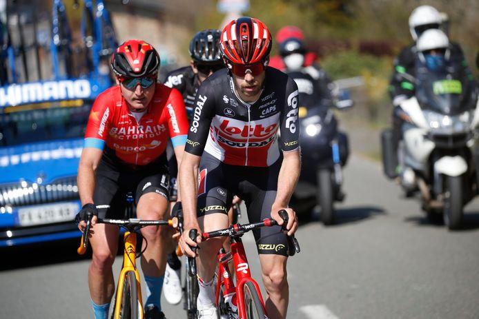 In Luik-Bastenaken-Luik, zijn enige Waalse klassieker, probeerde Harm Vanhoucke met een uitval net voor de finale te anticiperen.