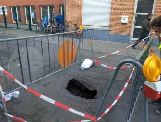 Lodewijk De Meesterstraat blijft afgesloten voor herstellingswerken aan zinkgat