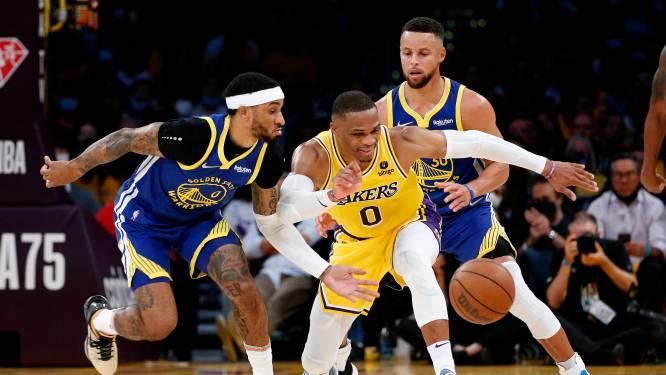 Lakers verliest ondanks topscorer James mede door triple-double Curry