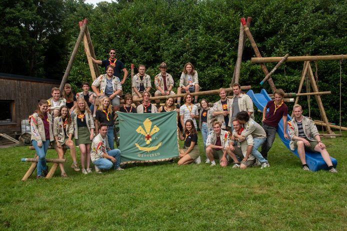 Scoutsgroep Prins Boudewijn viert haar 75ste verjaardag.