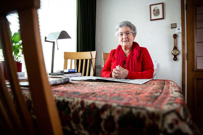 Sjoelen, zingen en kaarten is er voorlopig niet meer bij voor Anneke Beerens-Frijters.