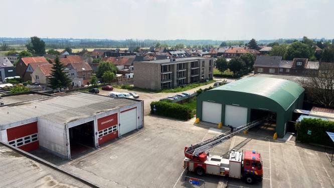 """Brandweerpost Kruibeke verhuist naar tijdelijke kazerne: """"Maar we rukken even snel uit"""""""