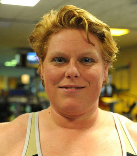 Europees goud powerliftster Ielja Strik met 537,5 kilo