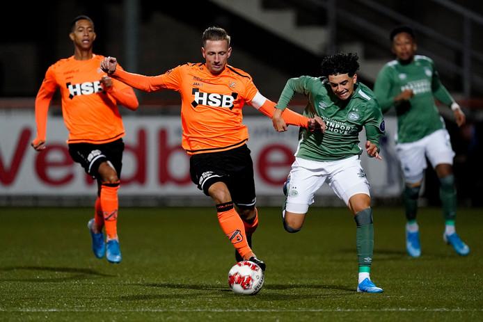 Richard Ledezma maakte tegen FC Volendam twee fraaie treffers.