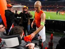 Robben slaat België over en sluit later aan bij Oranje