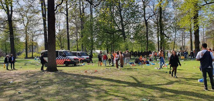 Park Valkenberg wordt ontruimd.