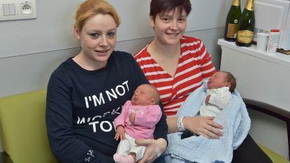 Primeur in AZ Delta: twee zussen bevallen  op dezelfde dag
