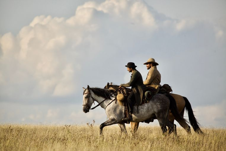 Filmstill uit The Sisters Brothers (Jacques Audiard). Beeld
