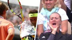 """Thiem vond het """"de grap voorbij"""", zijn vriendin riep 'time' richting umpire: Nadal irriteerde ook weer"""