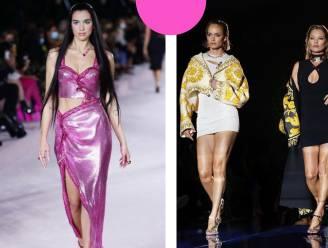 Top of flop? Dua Lipa maakt catwalkdebuut bij 'Fendace', de onverwachtse liefdesbaby van Fendi en Versace die wordt vergeleken met AliExpress