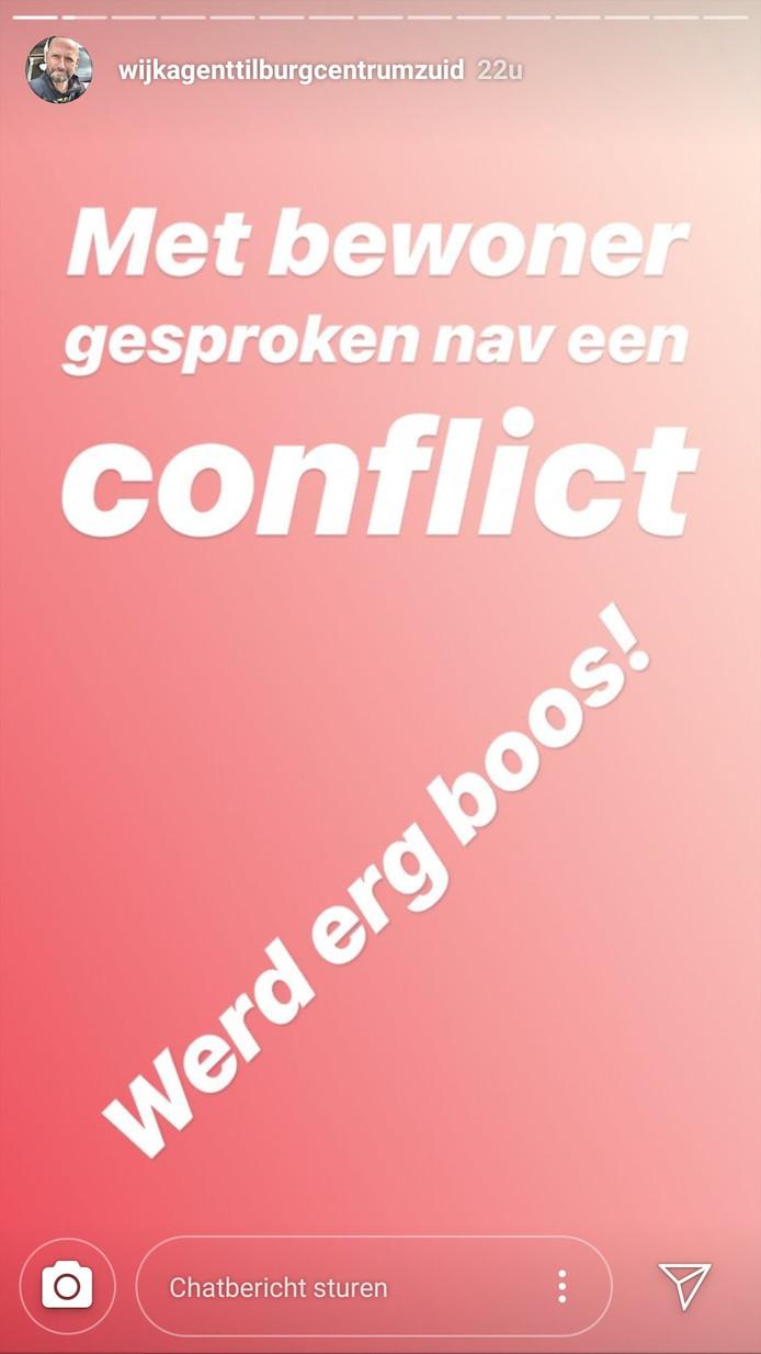Wijkagent Erwin van Erve laat dagelijks op zijn Instagram zien wat hem allemaal overkomt.