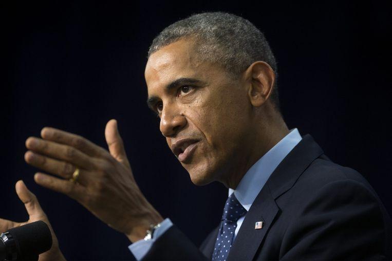 President Obama. Beeld AFP