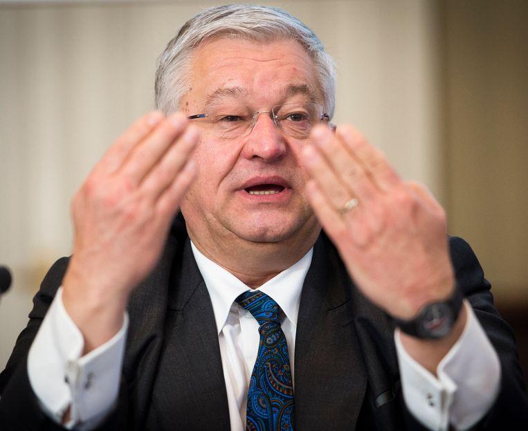 Brussels minister Guy Vanhengel (Open Vld).