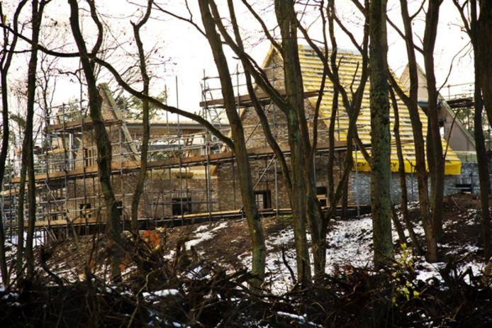 Bosrijk in aanbouw. foto Frank Trommelen