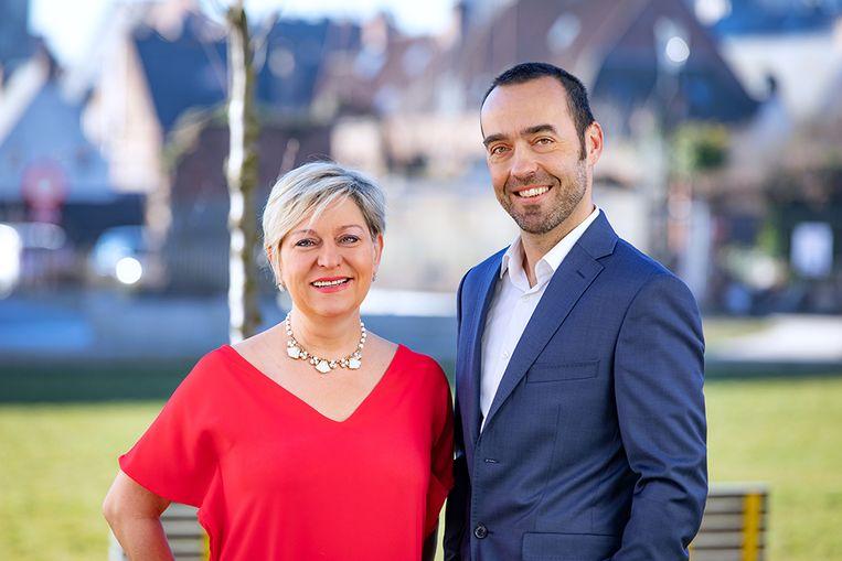 Katia Segers en Bruno Tobback van sp.a probeerden de besparingen in de cultuursector tegen te houden maar slaagden niet in hun opzet.
