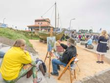 Romeins vrachtschip is dankzij heel veel moed en doorzettingsvermogen van Dimp en Ludo terug in Colijnsplaat