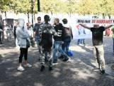 Demonstratie tegen coronamaatregelen op Plein in Den Haag