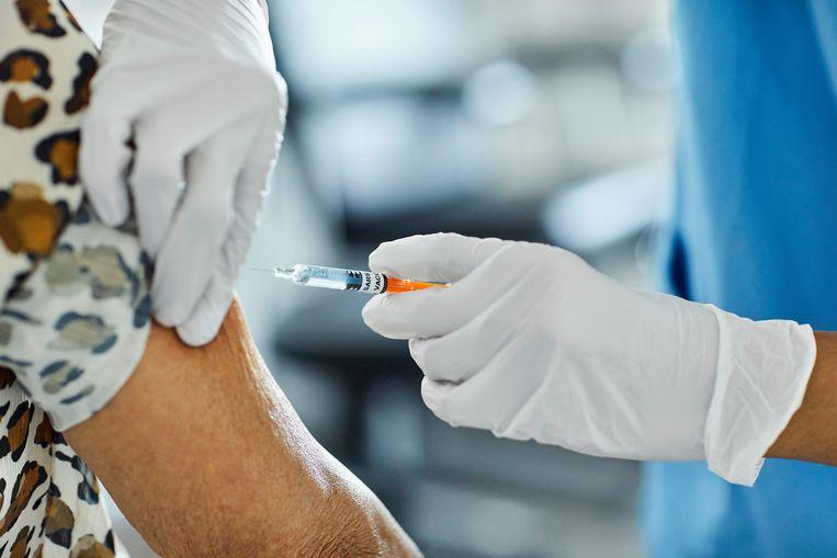 Coronavaccinatie. Beeld Getty Images