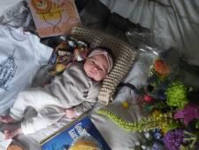 Baby Martha Sara is de 74.000ste van de stad: 'Gouda gaat goed voor je zorgen'