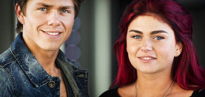 André junior en zijn zus Roxeanne