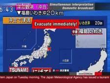 Un séisme de 7,3 au large de Fukushima, alerte au tsunami