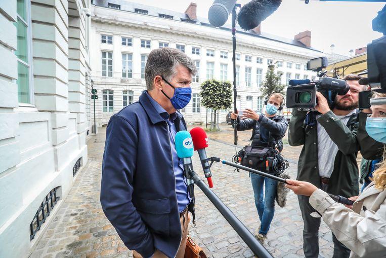 Bart Somers. Beeld Pieter-Jan Vanstockstraeten / Photonews