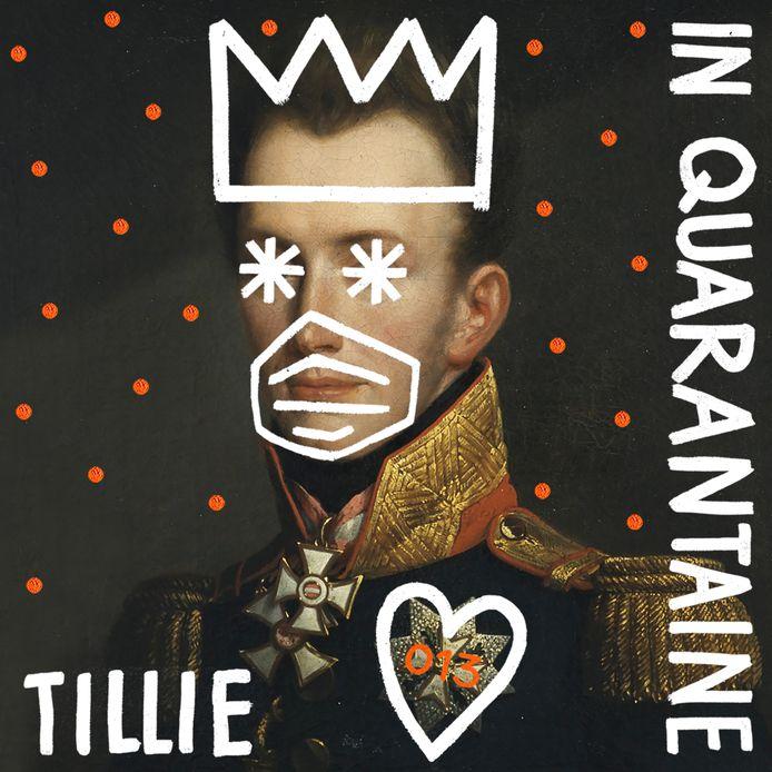 Albumhoes van 'Tillie in Quarantaine'.