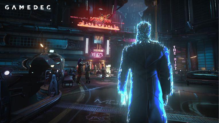 'Gamedec': misdaden oplossen in virtuele werelden (buiten dan de zogeheten 'echte' wereld van de game). Beeld Anshar Studios