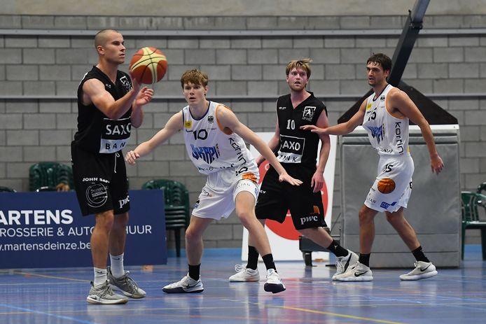 Landon Unruh scoorde 13 punten tegen Okapi Aalst.