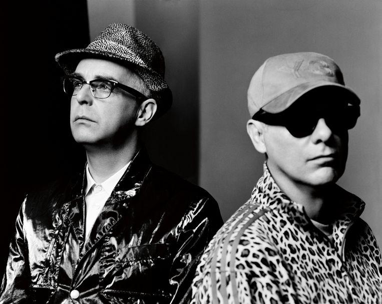 Zanger Neil Tennant en toetsenist Chris Lowe van Pet Shop Boys. Beeld Alasdair McLellan