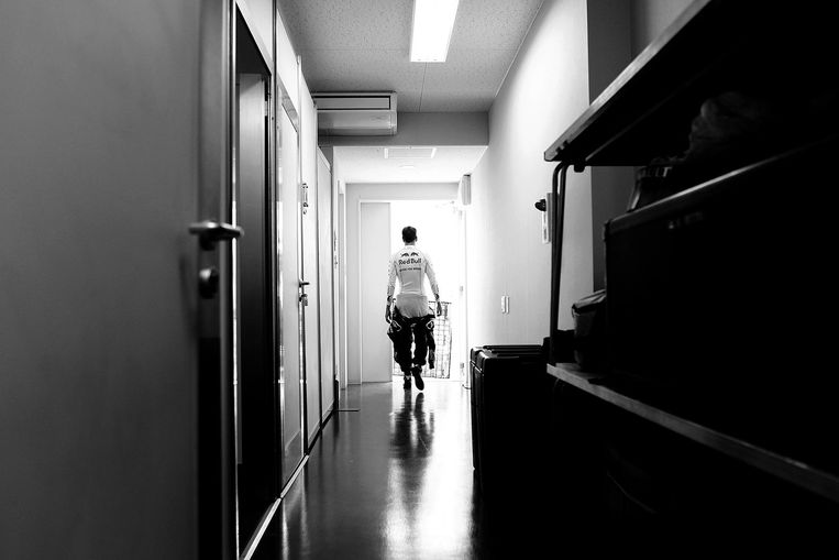 Sebastian Vettel, Grand Prix Japan, 2011 Beeld Vladimir Rys. All rights reserved.