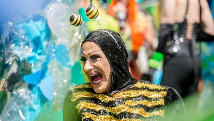 Archiefbeeld van de Antwerp Pride Parade twee jaar geleden. Dit jaar mogen ook hiv-positieve mensen meelopen.