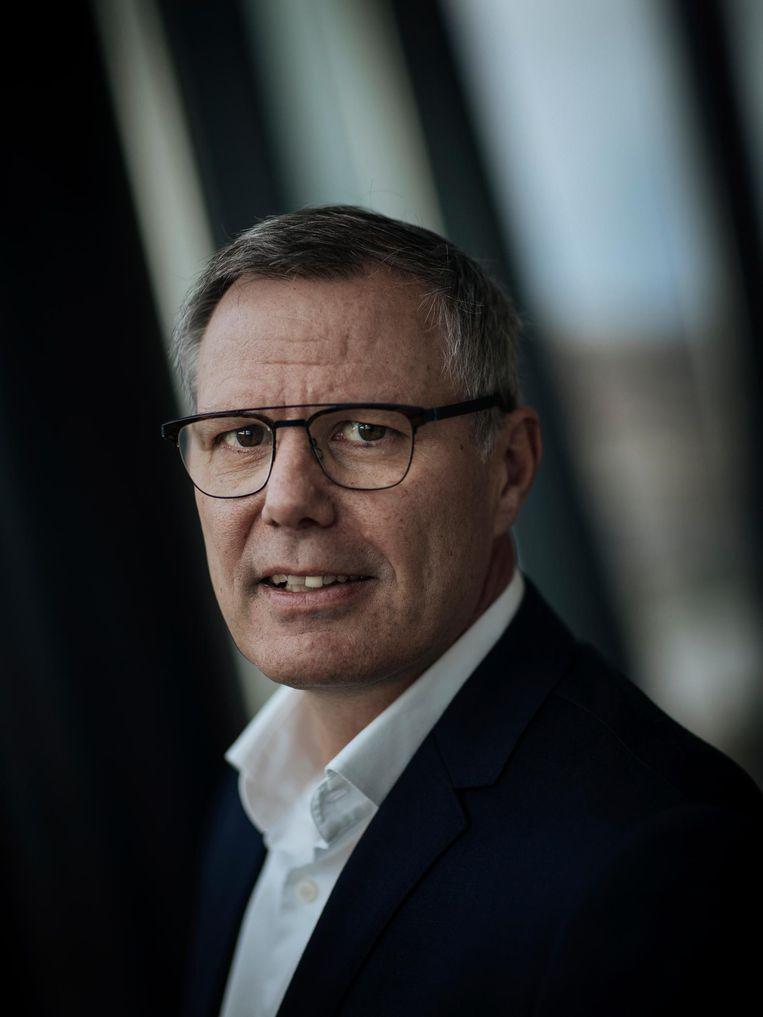 FNV-voorzitter Han Busker Beeld Marc Driessen