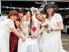 Stunt bij kringloop Gouda dankzij gift: chique trouwjurken voor 75 euro per stuk
