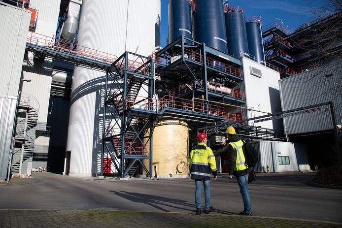De afvalenergiecentrale ARN in Weurt gaat ook warmte leveren aan het toekomstige warmtenet in Dukenburg.