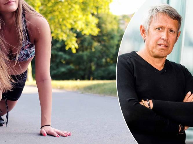 """""""Steviger borstkas? Dan pomp je best bijna dagelijks, zowat dertig keer per dag"""": topkinesist Lieven Maesschalck geeft advies om ook na de zomer fit te blijven"""