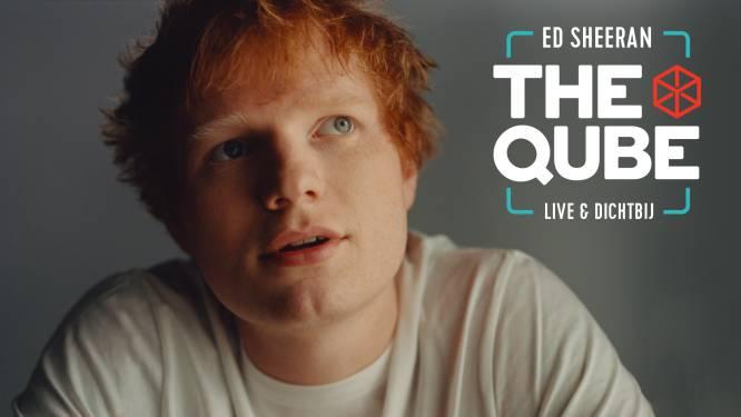 Ed Sheeran keert na bijna 10 jaar terug in the Qube van Qmusic