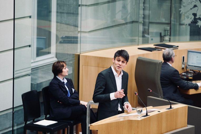 Minister van media Benjamin Dalle (CD&V). Beeld Tim Dirven