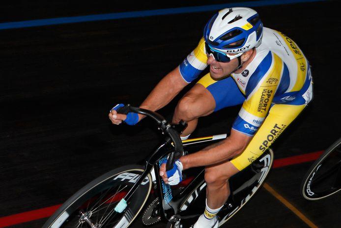 Kenny De Ketele toonde zich tijdens de International Belgian Track Meeting in Gent klaar voor een olympische selectie.
