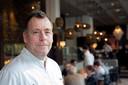 Topkok Ron Blaauw in zijn restaurant Ron Gastrobar.
