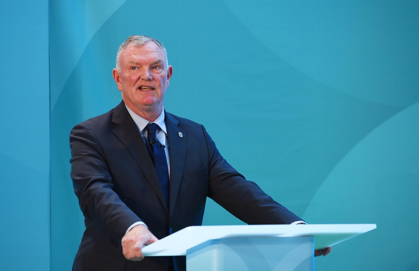 FA-voorzitter Greg Clarke.