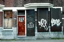 Een gesloten drugspand in Rotterdam.