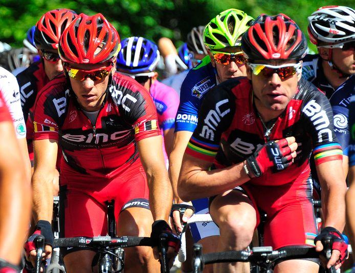 Cadel Evans est l'un des vainqueurs du Tour de France que Philippe Gilbert a côtoyé durant sa carrière: chez Lotto, d'abord, puis chez BMC (entre 2011 et 2015).