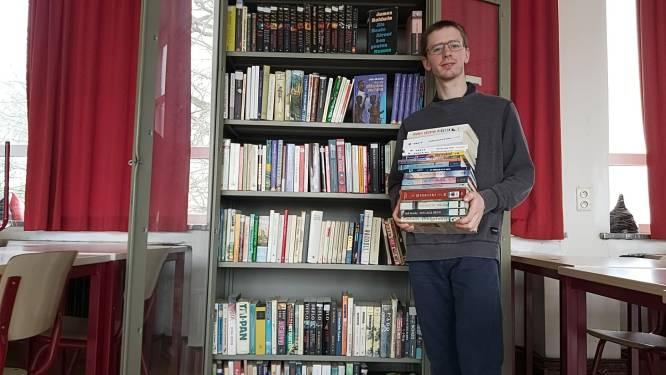 Atheneum wil leerlingen aanzetten om te lezen en start eigen bibliotheek