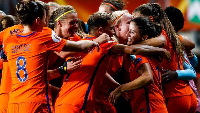 De voetbalsters van Oranje Beeld ANP