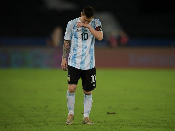 Argentinië ondanks prachtgoal Messi niet voorbij Chili