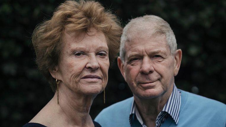 Frits Barend en zijn vrouw Marijke Barend-van Haeften Beeld Marc Driessen