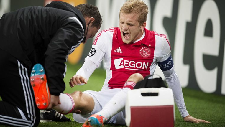 Nicolai Boilesen raakte op 25 november vorig jaar geblesseerd in het Champions League-duel met Paris Saint-Germain. Beeld null