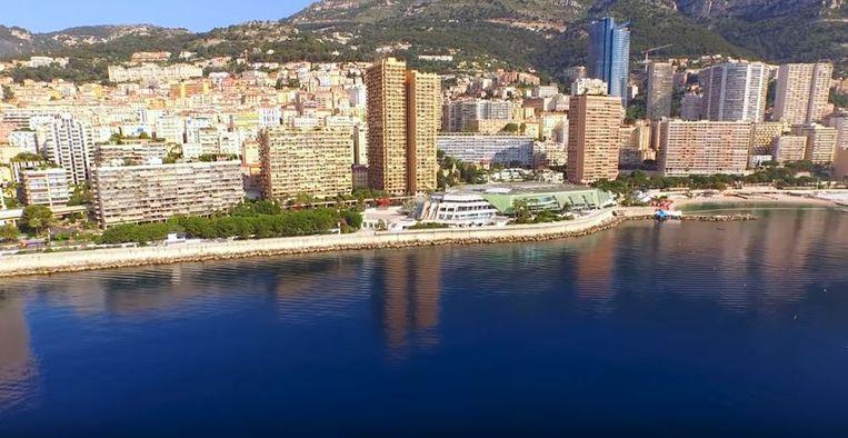 Uitzicht van de skyline van Monaco zoals die nu is.  Beeld Valode & Pistre/Bouygues Construction